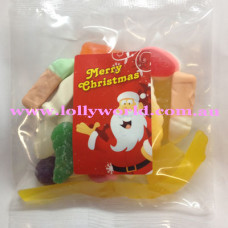 Party Mix Santa Lolly Bags 100g x 100
