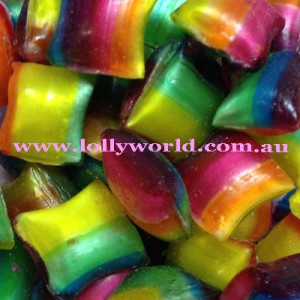 Chocolate Filled Boiled Lollies
