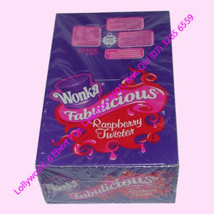 Wonka Fabulicious Raspberry Twists