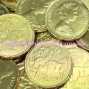 Gold Chocolate Coins bulk