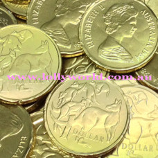 Gold Chocolate Coins bulk