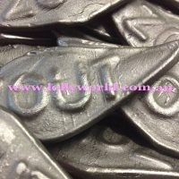 Dutch Licorice Large Salty Diamonds