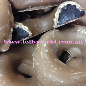 Aniseed Rings Milk Chocolate