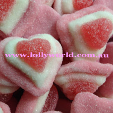 Love Heart Trio Lollies