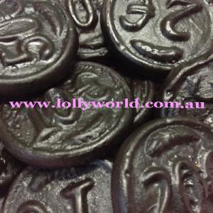 Dutch Licorice Black Coins