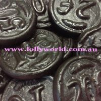 Dutch Licorice Black Coins