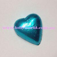 Light Blue chocolate hearts