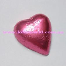 Pink chocolate hearts