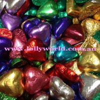mixed chocolate hearts