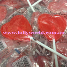 Red Heart Lollipops