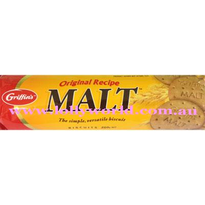 Griffins Malt biscuits