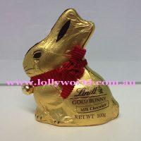 Lindt Gold Milk Chocolate Bunny 100g