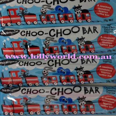 choo choo bars licorice