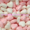 pink & white mini hearts
