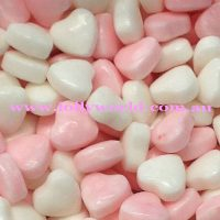 pink & white mini hearts