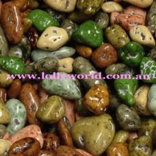 Chocolate River Stones