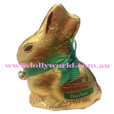 Lindt Gold Hazelnut Bunny 100g