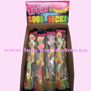 trolli sour geckos