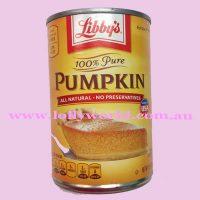 Libbys Tinned Pumpkin