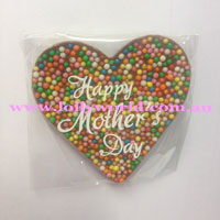 Happy Mother's Day Chocolate Heart