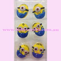 Cake Topper Minions 6pc