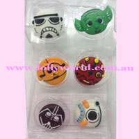 Cake Topper Star Wars 6pc