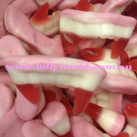 Vampire Teeth Lollies