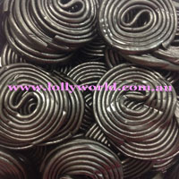Licorice Wheels Black