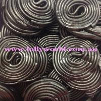 Licorice Wheels Black