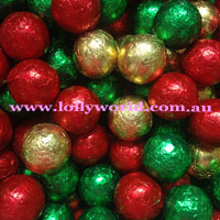 Christmas Chocolate Baubles