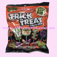 halloween party lollies