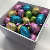 Milk chocolate eggs 15 gift box