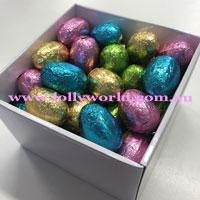 Milk chocolate eggs 15 gift box