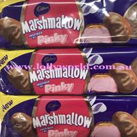 pinky marshmallow eggs