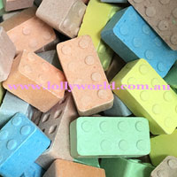 candy building blocks
