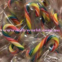 candy canes mini tutti frutti