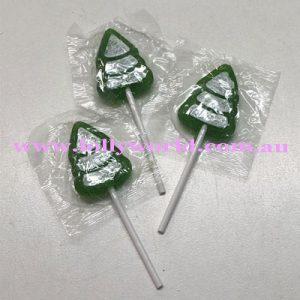 Christmas Tree Lollipops