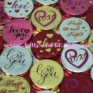 love message chocolate